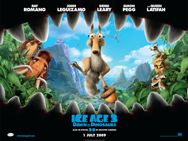 Ice age 3 Ice Age 3 Poster